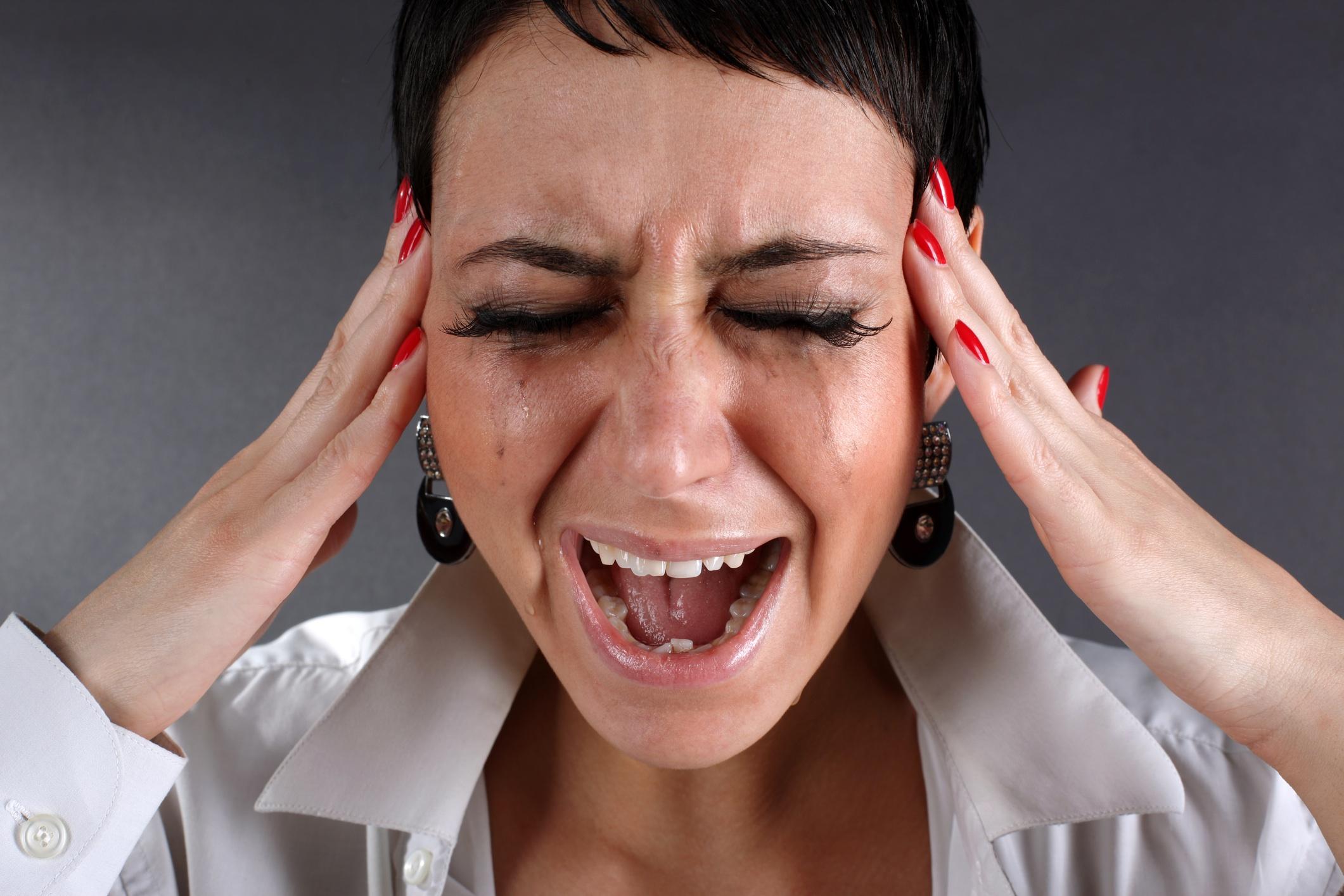 Русская женщина кричит 16 фотография
