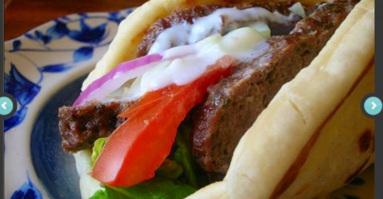 Eat This! Healthier Beef Gyro from Food Network