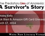 Welcome to the Predatory Lies of Anorexia Virtual Book Tour!