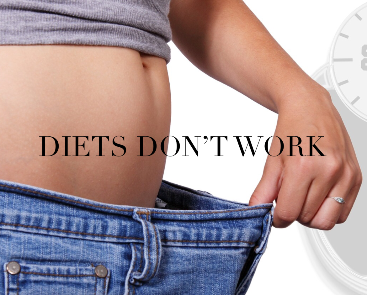 Diets Don't Work. Lifestyle changes Do!